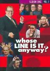 Whose Line Is It Anyway Ssn1 V1 0012569820234 With Colin Baker DVD Region 1