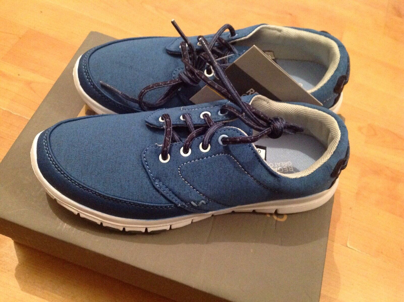 Regatta Lady Marine Size 4 Trainers RRP  New Shop Clearance