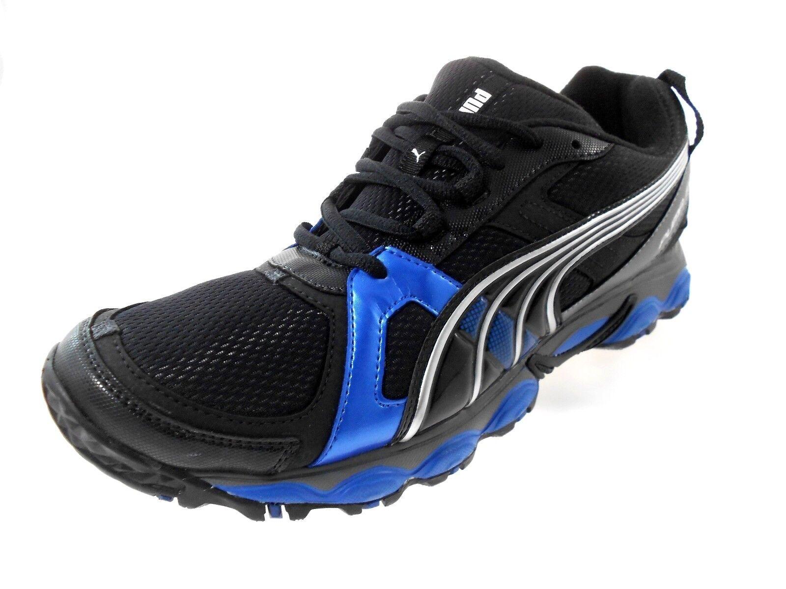PUMA COMPLETE SLX RYJIN LT MEN'S BLACK/BLUE SHOES SIZE 10,  New shoes for men and women, limited time discount