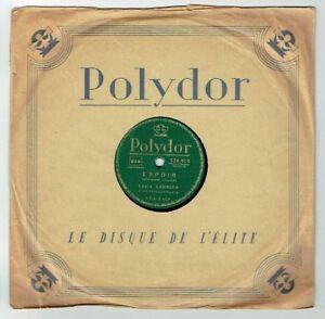 78T-25cm-Louis-LEDRICH-Musette-Disk-HOPE-MI-JACA-POLYDOR-524919-punki64