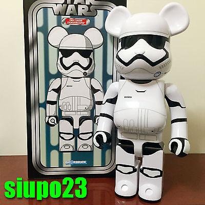 Medicom 2016 Expo Be@rbrick Star Wars 400/% First Order Stormtrooper Bearbrick 1p