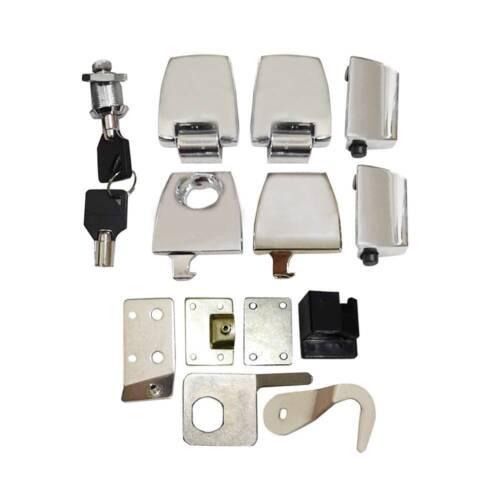 Premium Hardware Kit Latches Hinges Lock fit for Harley Davidson Tour Pak 06-13