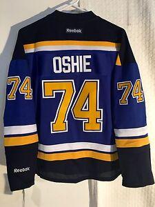 Reebok Women s Premier NHL Jersey St. Louis Blues T.J. Oshie Blue sz ... 075e22c45