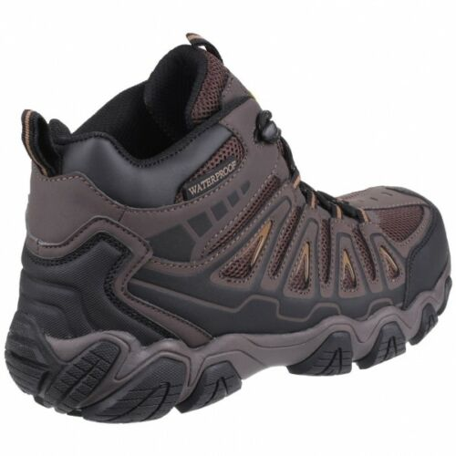 Amblers Safety AS801 ROCKINGHAM Mens Hiker S3 WR HRO SRA Safety Work Boots Brown