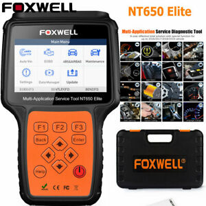 Automotive-OBD2-Scanner-ABS-SRS-BRT-DPF-Injector-TPMS-EPB-Foxwell-NT650-Elite