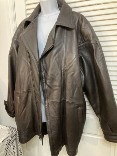 Midway Men's Brown Genuine Soft Leather Jacket Sa