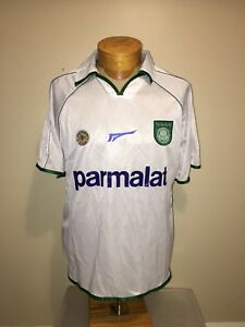 Image is loading NWT-VINTAGE-PALMEIRAS-BRAZIL-RHUMELL-PLAYER-9-FOOTBALL- 2d3227bb4