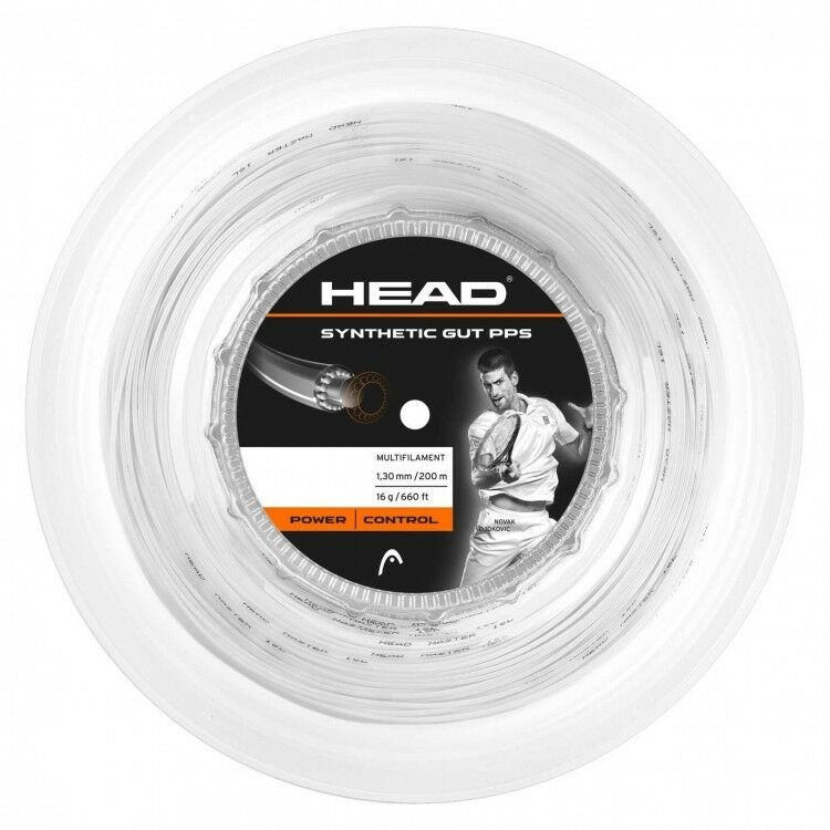 Head Synthetic Gut PPS Tennis String 200m Reel