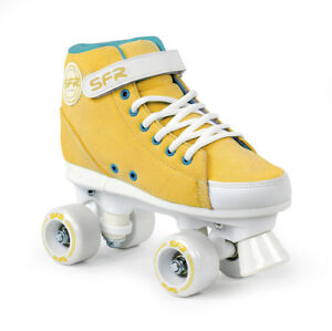 Vision Patines Zapatillas Quad Sfr Junior Mustard n08Uq7wwz