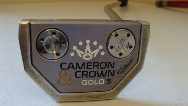 Scotty Cameron Cameron & Crown GOLO 5 33