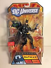 "BATMAN ALL-STAR FIGURE 1 BLACK SUIT 6"" 2010 MATTEL DC UNIVERSE CLASSICS MIB"