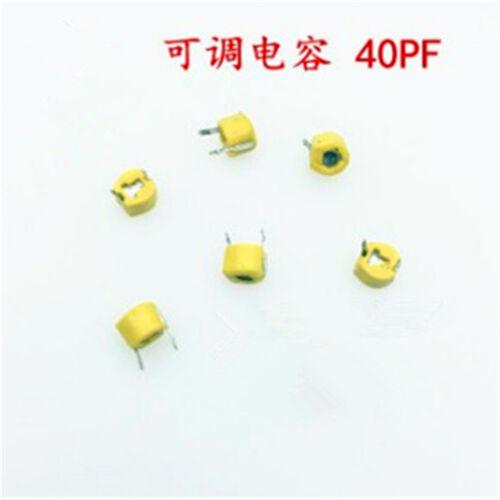 20Pcs 6x6mm  5//10//20//30//40//50//120 Ceramic trimmer capacitor adjustable Capacitor