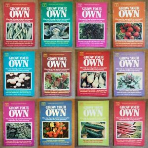 Magazine - Grow Your Own Marshall Cavendish 1977 Contents Index Shown - Various