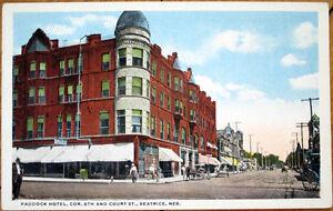 Image Is Loading 1920 Postcard Paddock Hotel 6th Amp Court Street