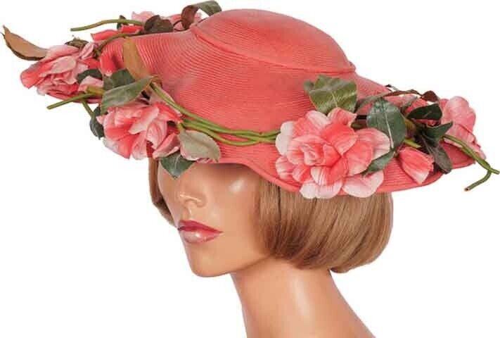 1940s Vintage Wide Brim Hat by Laddie Northridge … - image 1