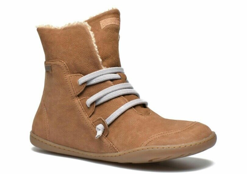 Nuevas botas De Mujer Camper Peu Cami De Vellón Vellón Vellón Sherpa Polar Forrado De Piel Sintética Talla 6 36  popular