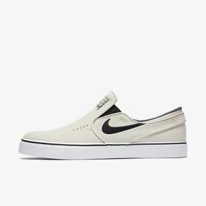 9093cb6c0256 Nike SB Zoom Stefan Janoski Slip On Light Bone Skate Shoe(833564 002 ...