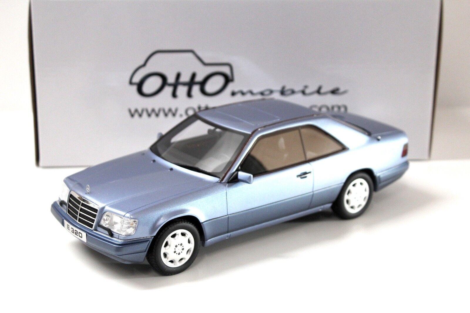 1 18 Otto mercedes e320 (c124) Coupe 1986 azul New en Premium-modelCoches