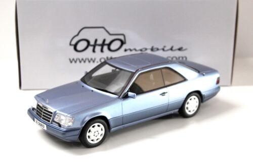 c124 1:18 Otto mercedes e320 Coupe 1986 Blue New en Premium-modelcars