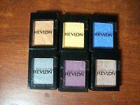 6 Revlon Single Eye Shadows