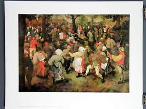 Image Is Loading Wedding Dance In The Open Air Pieter Brueghel