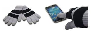 Gants Noir / Gris XL pour Ecrans Tactiles: Smartphone, iphone, ipad, Tablette,..