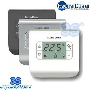 3s termostato ambiente batteria fantini cosmi ch110 ch111