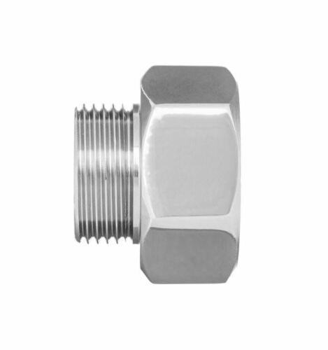"Pipe Connection Reduction Fittings Chrome Female x Male 1//2/""x3//8/"" 3//4/""x1//2/"""