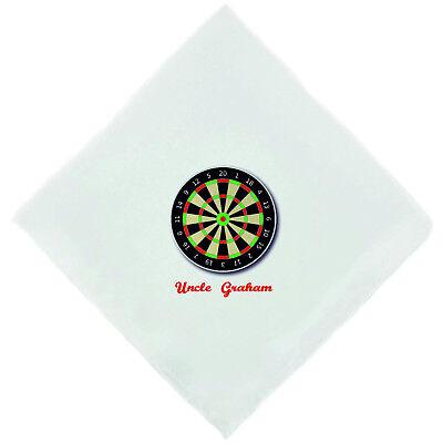 Personalised Snooker Player Novelty Handkerchief Christmas Birthday Gift