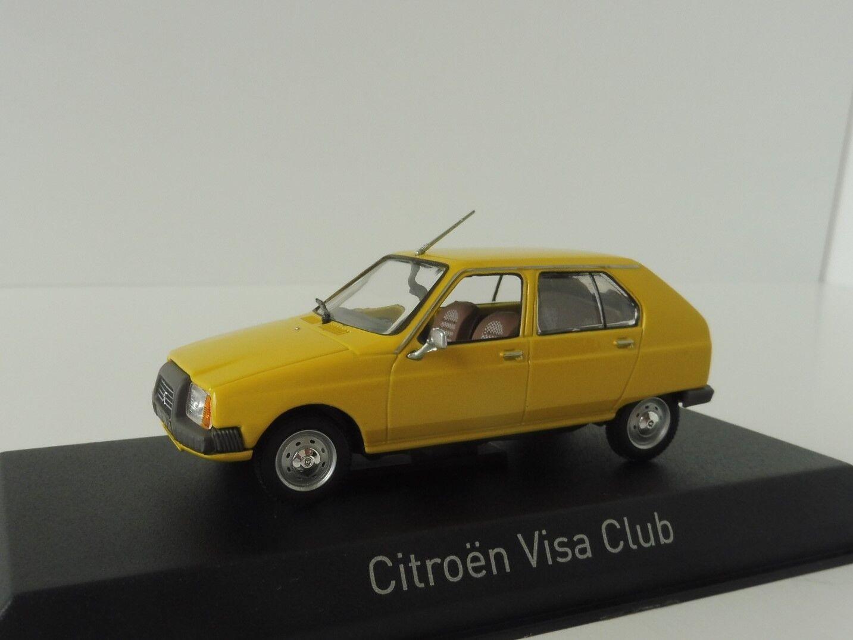 Citroen Visa Club 1979 1 43 Norev 150940 Mimosa