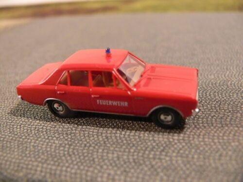 1//87 Brekina Opel record C Pompiers FW 20504