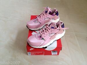 fbe477c17988 NIKE AIR HUARACHE FLORAL PRINT PINK ALOHA ALL SIZES 3 4 5 7 LIMITED ...