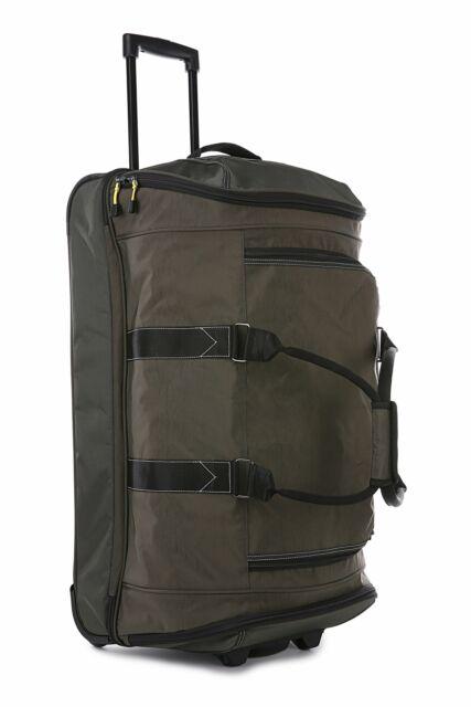 Antler Urbanite Evolve Mega Decker Trolley Bag Khaki Travel Luggage