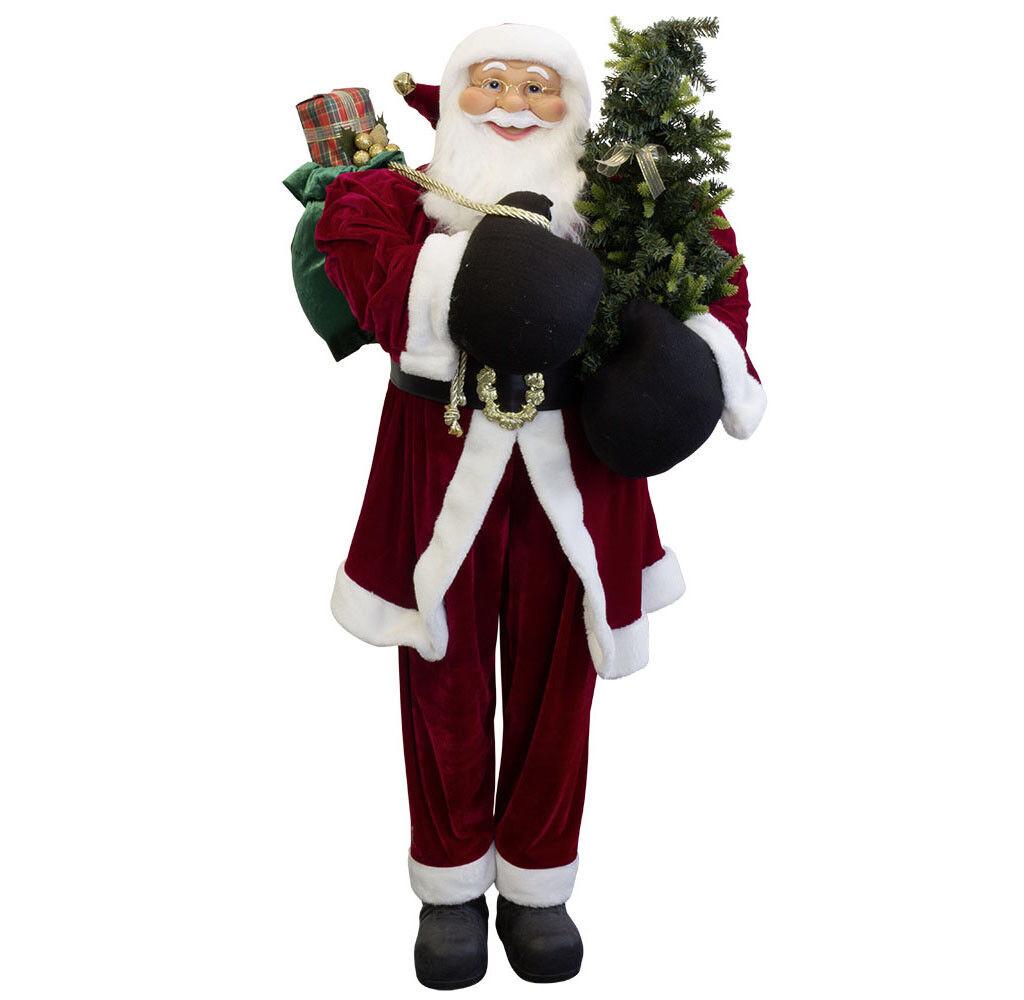 Weihnachtsmann Philip 150cm Santa Claus Claus Claus Nikolaus Dekofigur Weihnachtsdeko 207599