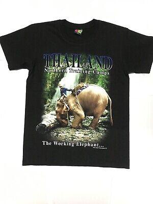 Size M Japanese Brand Elephant Full Print Sweatshirt