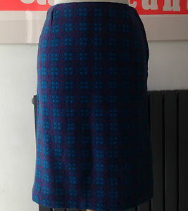 VTG-60S-70S-GORGEOUS-WELSH-WOOL-TAPESTRY-COLOURFUL-KNEE-LENGTH-SKIRT-APPROX-10