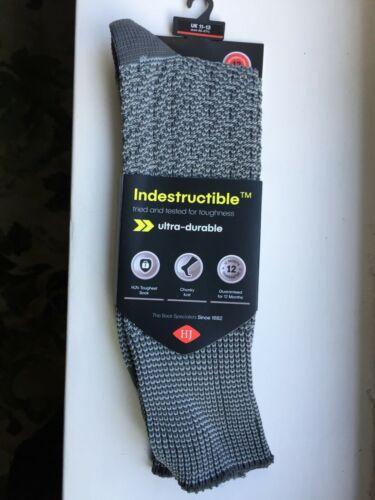 Indestructible fantaisie chiné Demi Tuyau Long Chaussettes Par Hj Hall HJ4 ou 5