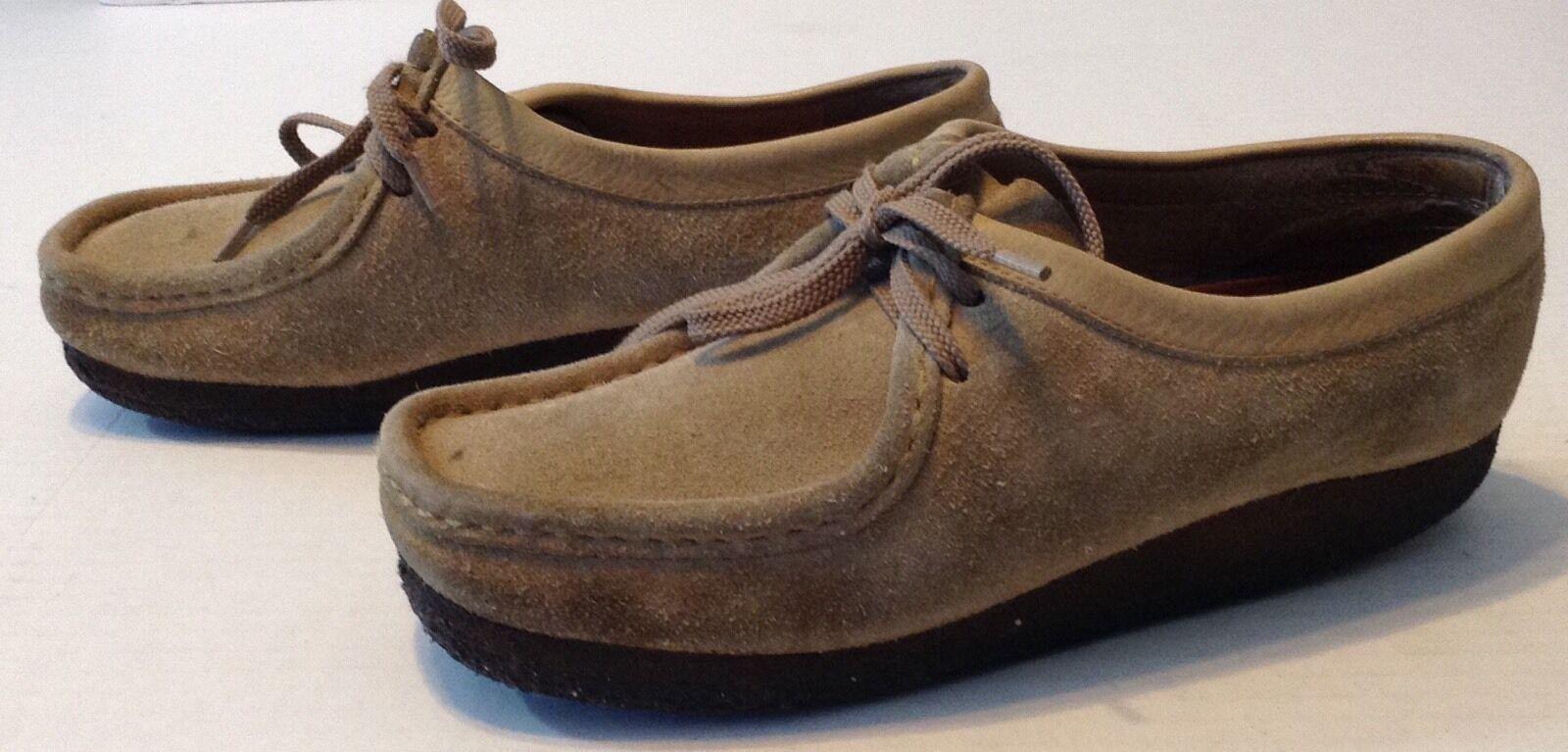 clarks original des chaussures wallabees daim faible chaussures des taille 8 cf4d96