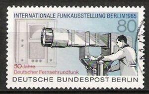 Berlin Nº 741 Exposition Internationale 1985, Estampillé-g 1985, Gestempeltfr-fr Afficher Le Titre D'origine Prix Fou