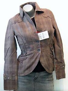REPLAY NUEVO mujer eBay tamaño Chaqueta de w7733 S Cool marrón 3638 BqnBRFP