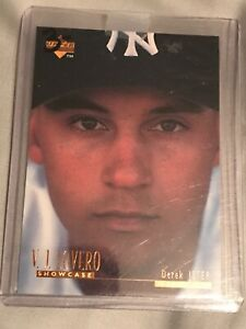 1996 Upper Deck V.J. Lovero #VJ3 DEREK JETER RC(Yankees) *RARE CARD* NICE