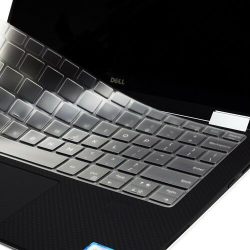 Ultra Thin Invisible Keyboard Skin for Dell XPS 9365 13.3-Inch 2 in 1 Ultrabook