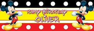 PERSONALISED-HUGE-MICKEY-MOUSE-BIRTHDAY-BANNER-POSTER-LARGE-ANY-AGE-TEXT-ETC