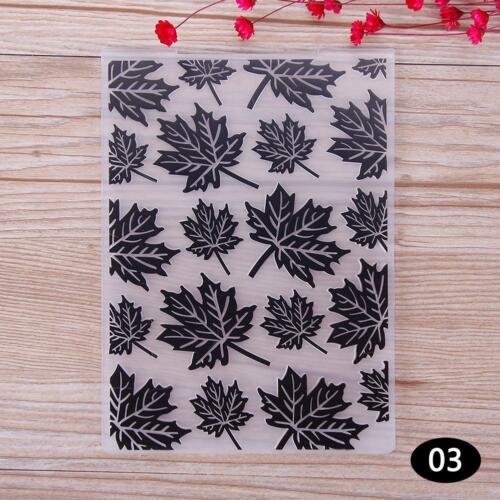 Various Plastic Embossing Folders for DIY Card Making Decoration Supplies