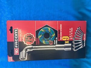 Facom-Herramientas-Venta-OGV-Drive-angulo-Llave-de-Tubo-Set-9-piezas-8mm-19mm