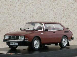 SAAB 99 Turbo Combi Coupe - 1977 - wine red - Premium X 1:43