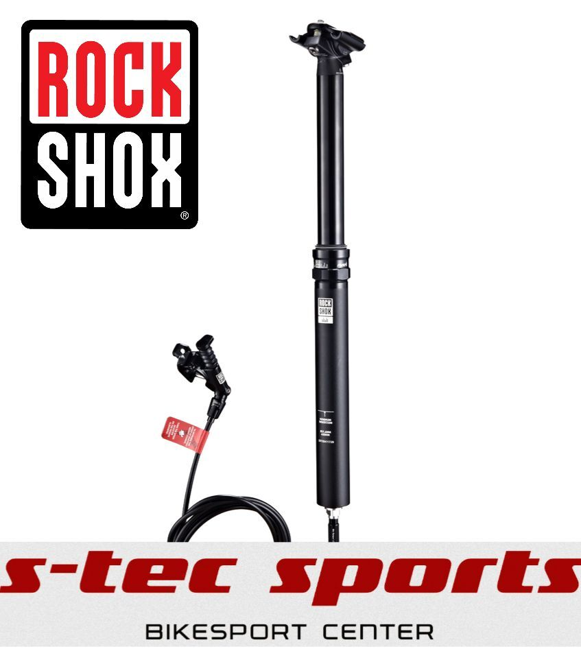 Rock Shox Reverb Stealth, 30,9mm, 125mm, Laageable Seat Post