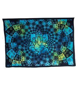 Kunst-und-Magie-Wandbehang-Dekotuch-OM-Ganesha-ca-200-cm-x-140-cm