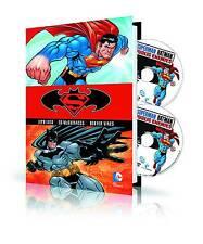 Superman/Batman: Public Enemies Hardcover Graphic Novel And DVD & Blu-Ray Set