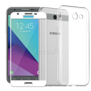 check out d20b6 efa2b Details about For Samsung Galaxy J3 Luna Pro S327VL Phone Screen Protector  TPU Protective Case